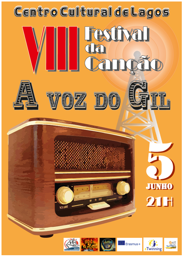 festival voz do gil cartaz