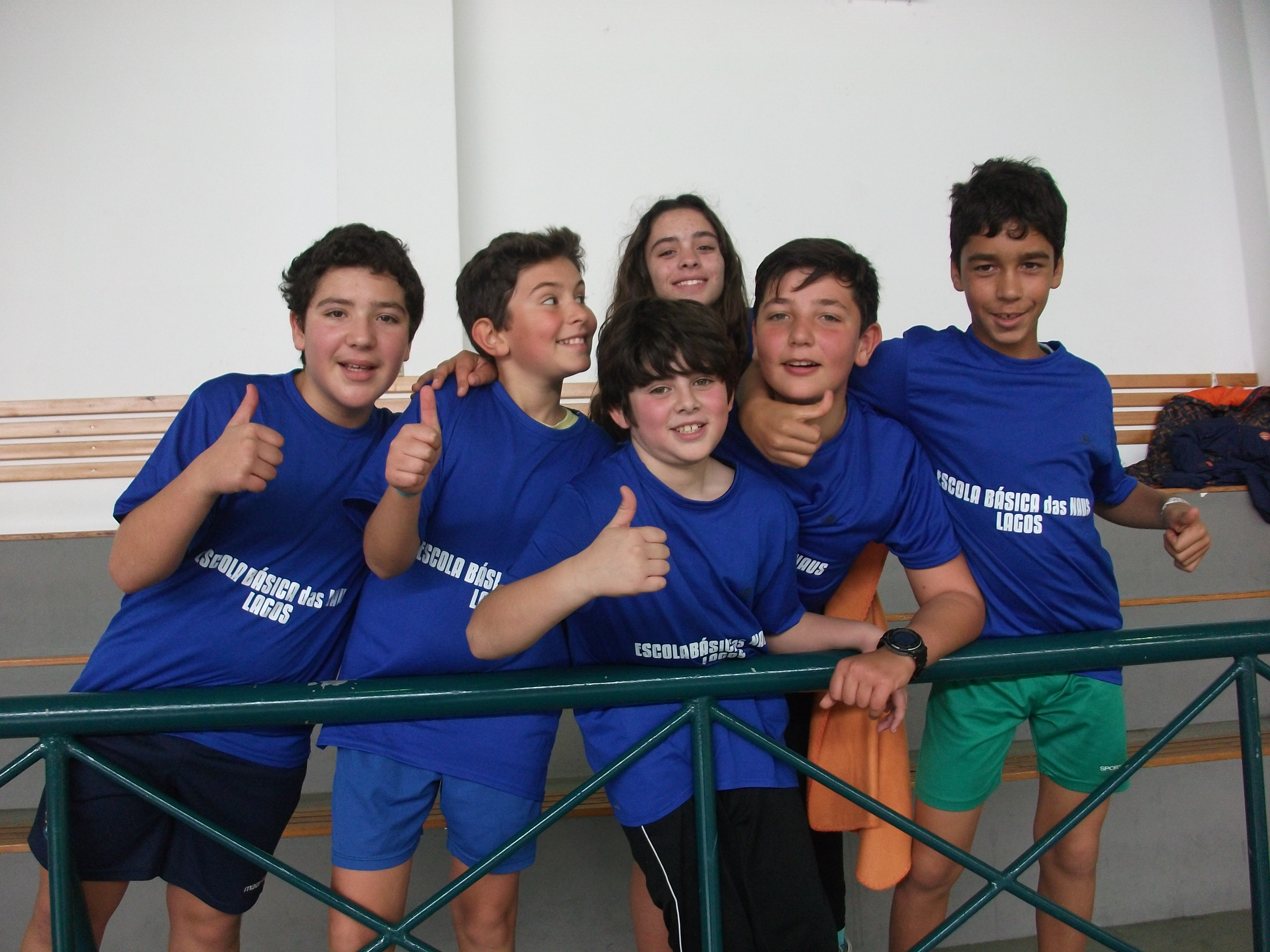 1º Encontro do grupo-equipa de Badminton da Escola das Naus